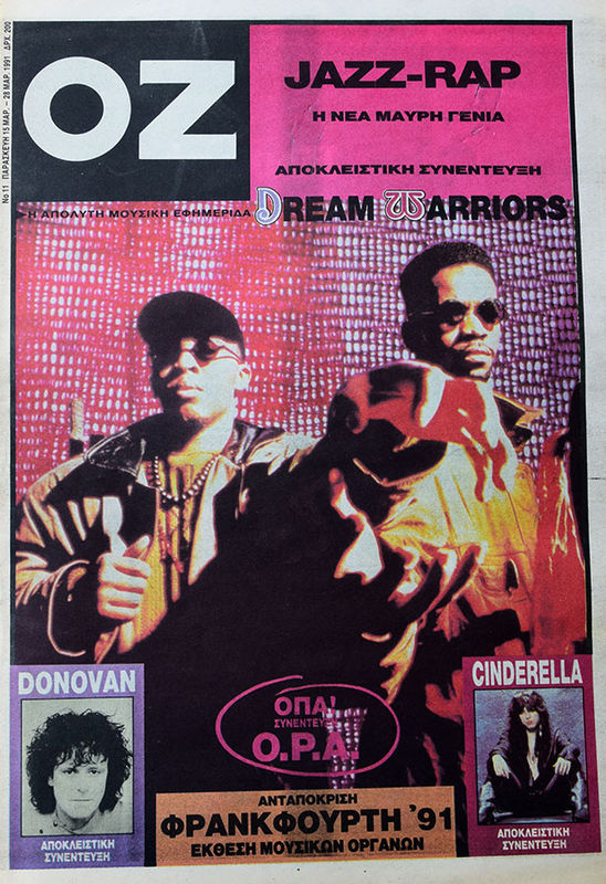 DREAM WARRIORS - Oz Music Newspaper - Magazine