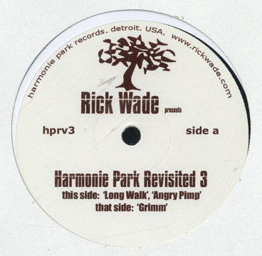 RICK WADE - Harmonie Park Revisited 3 - 12 inch x 1