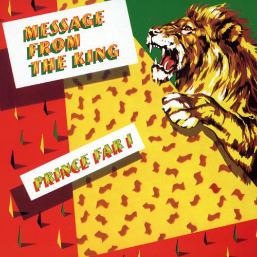 PRINCE FAR I & THE ARABS - Message From The King - CD