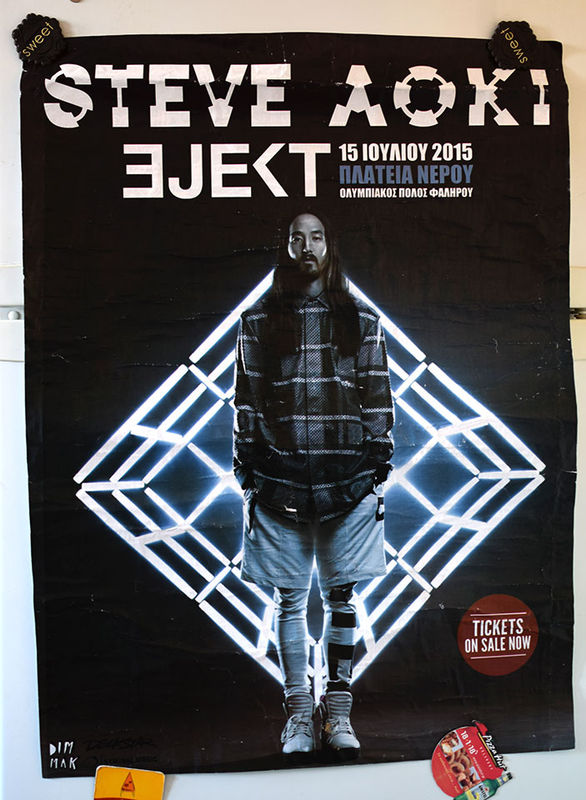 STEVE AOKI - Neon Future Live Concert Poster - Poster / Display