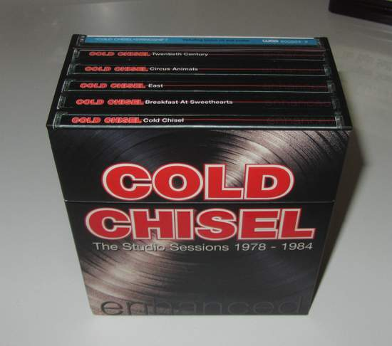 Cold Chisel - The Studio Sessions 1978 - 1984 - CD Box Set