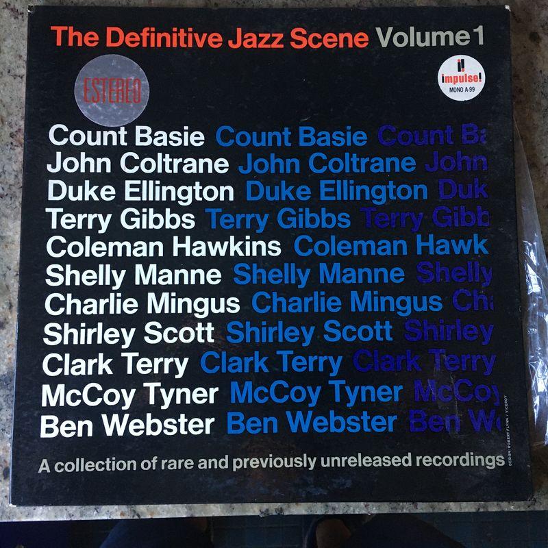 Various The Definitive Jazz Scene Volume 1