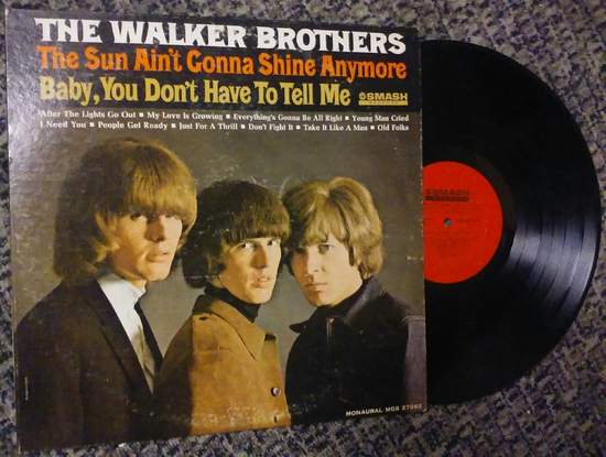 Walker Brothers - The Sun Ain't Gonna Shine Anymore - LP