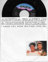 Aretha Franklin & George Michael - I Knew You Were Waiting-i Knew You Were Waiting (instrum) - 45