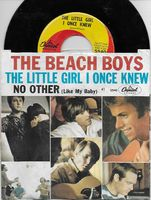 Beach Boys - The Little Girl I Once Knew-there's No Other - 45