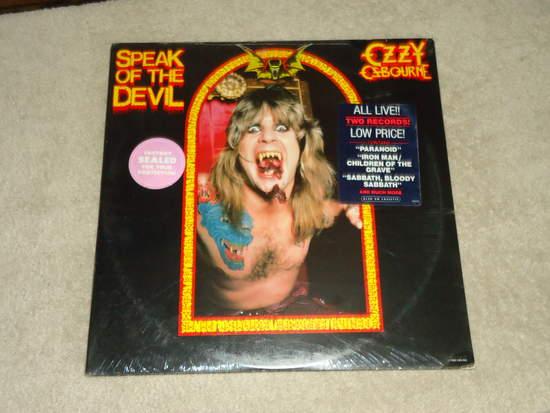 Ozzy Osbourne - Speak Of The Devil Single