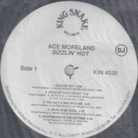 Ace Moreland - Sizzlin' Hot (promo) - LP