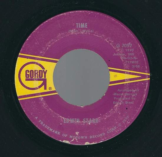 Edwin Starr - Time / Running Back And Forth - 45