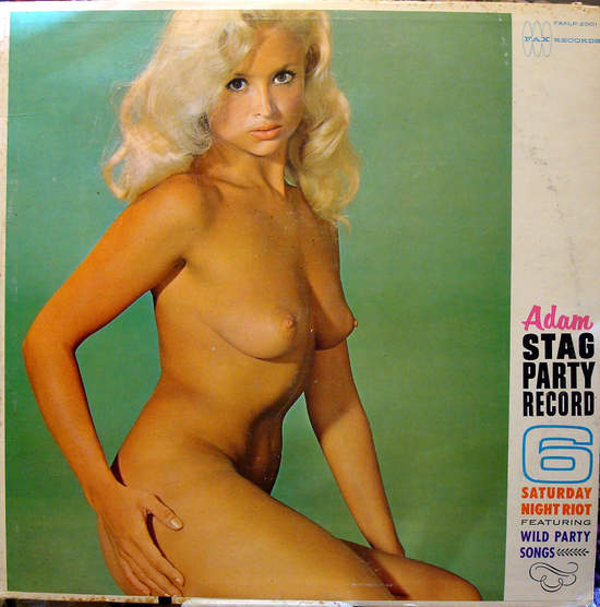 Adam Stag Party Record - Saturday Nite Riot - LP