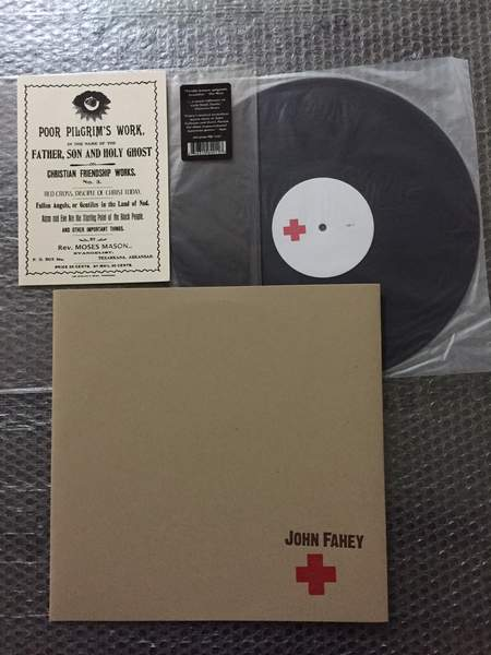 John Fahey - Red Cross Disciple Of Christ Today - LP