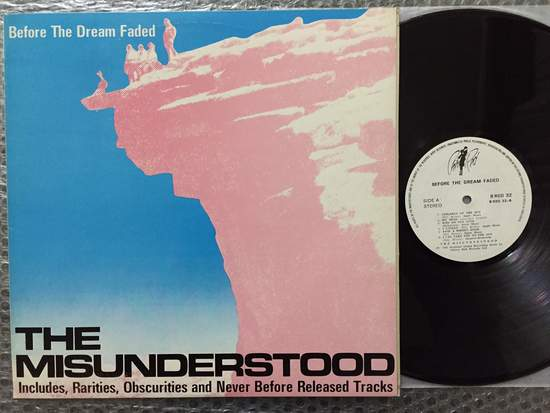 Misunderstood - Before The Dream Faded - LP