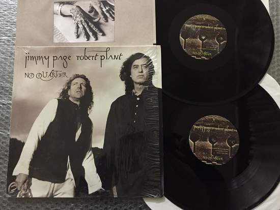 Jimmy Page,robert Plant - No Quarter: Jimmy Page & Robert Plant Unledded - 2LP