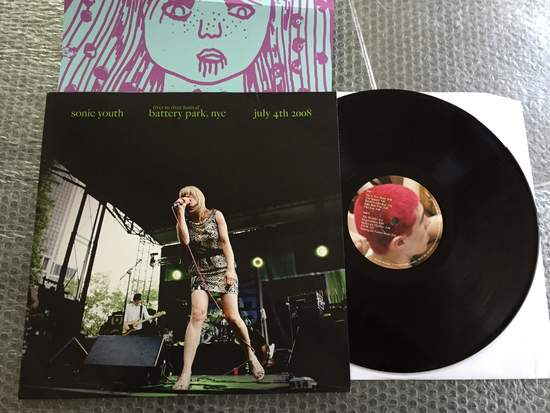 Sonic Youth - Battery Park Nyc, July 4th 2008 - LP