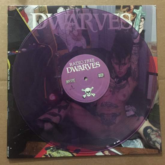 Dwarves - Radio Free Dwarves - LP Colored Vinyl
