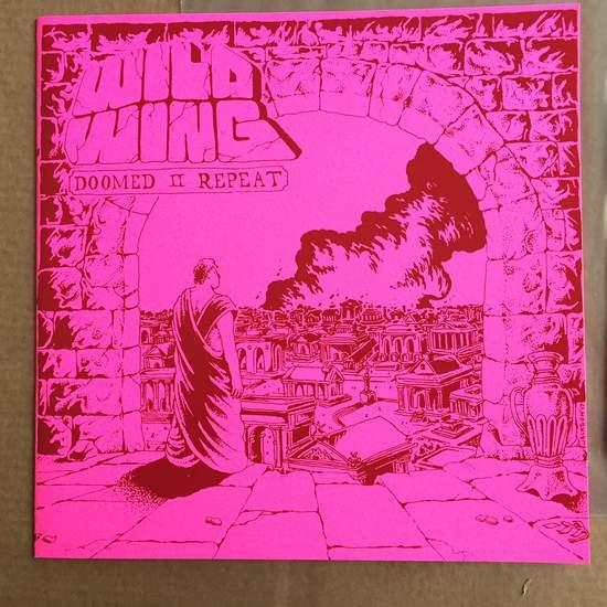 Wild Wing - Doomed I I Repeat - LP Test Pressing