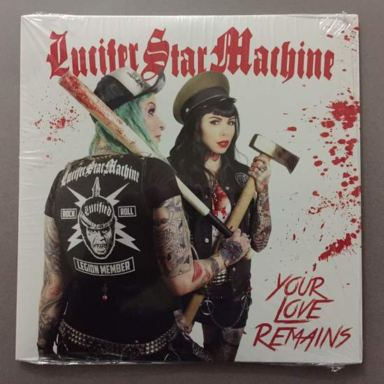 "Lucifer Star Machine - Your Love Remains - 7"" Colored Vinyl"