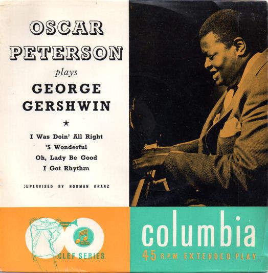 OSCAR PETERSON - PLAYS GEORGE GERSHWIN EP - EP