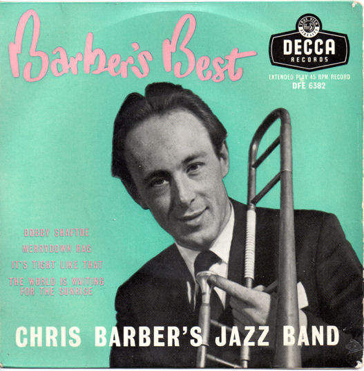 CHRIS BARBER'S JAZZ BAND - BARBER'S BEST EP - EP