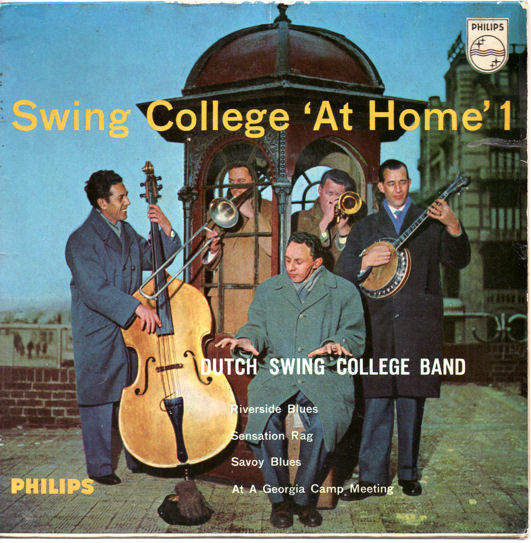DUTCH SWING COLLEGE BAND - SWING COLLEGE AT HOME NO. 1 EP - EP