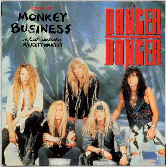 DANGER DANGER - Monkey Business Record