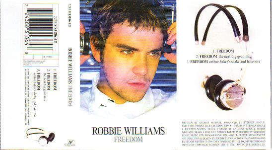 ROBBIE WILLIAMS - Freedom - Cassette Single