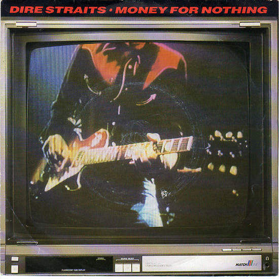 DIRE STRAITS - Money For Nothing / Love Over Gold - Live