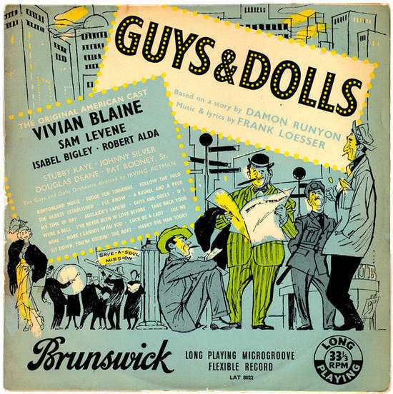 ORIGINAL AMERICAN CAST - Guys And Dolls - Original American Cast