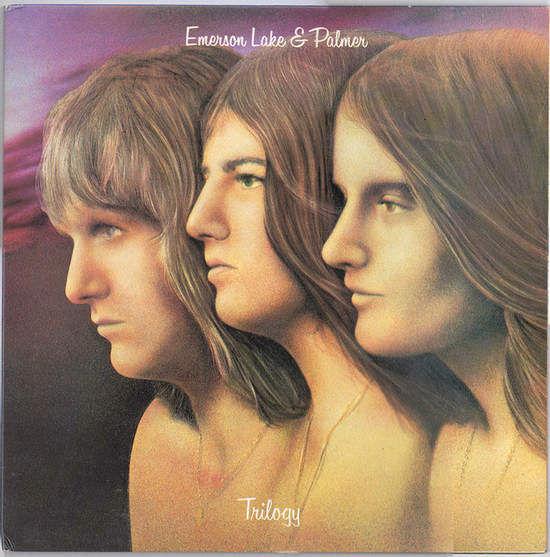 EMERSON,LAKE & PALMER - TRILOGY - LP