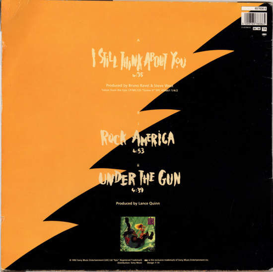 DANGER DANGER - I Still Think About You / Rock America / Under The Gun