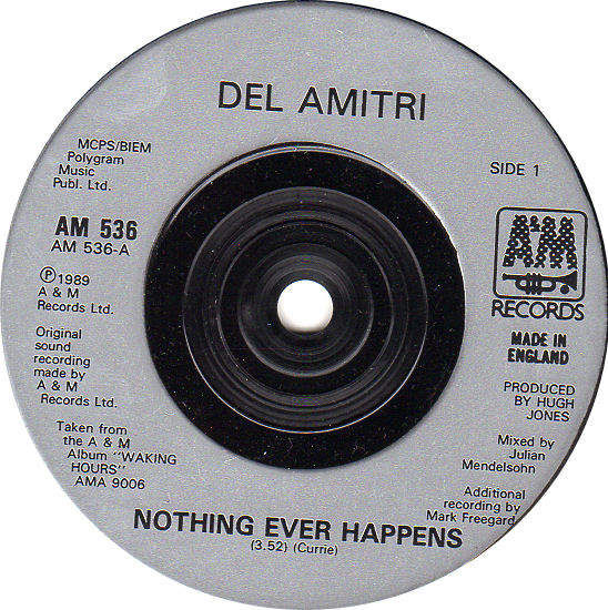 DEL AMITRI - Nothing Ever Happens / So Many Souls To Change