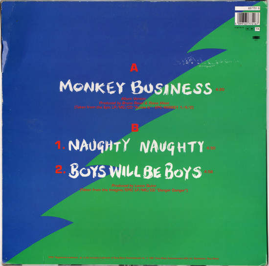 DANGER DANGER - Monkey Business Album