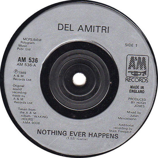 Nothing Ever Happens / So Many Souls To Change - DEL AMITRI