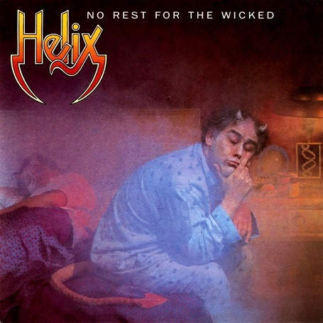 Helix - No Rest For The Wicked - LP