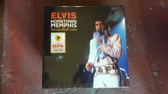 Elvis Presley – Hometown Memphis Recorded Live - Hometown Memphis Recorded Live - LP Box Set