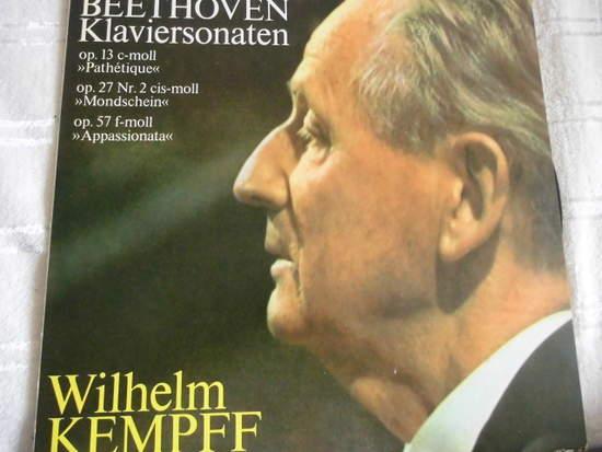 Wilhelm Kempff - Beethoven Klaviersonaten - LP