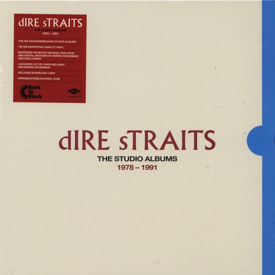 Dire Straits - The Complete Studio Albums 1978-1991 - LPBoxSet