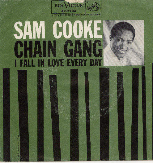 Cooke, sam - Chain Gang/i Fall In Love Every Day, Rca Victor 57-7783