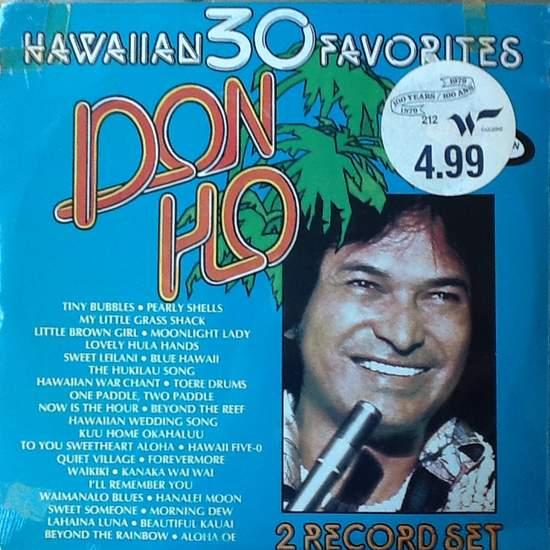 Don Ho - 30 Hawaiian Favorites (sealed Lpx2) - LP