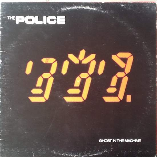 Police - Ghost In The Machine - LP