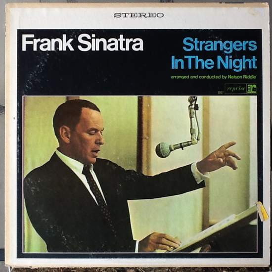 Frank Sinatra - Strangers In The Night - LP+CDR