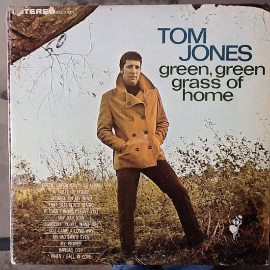 Tom Jones - Green Green Gras Of Home - LP
