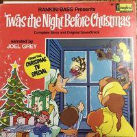 Joel Grey - Twas The Night Before Christmas - LP