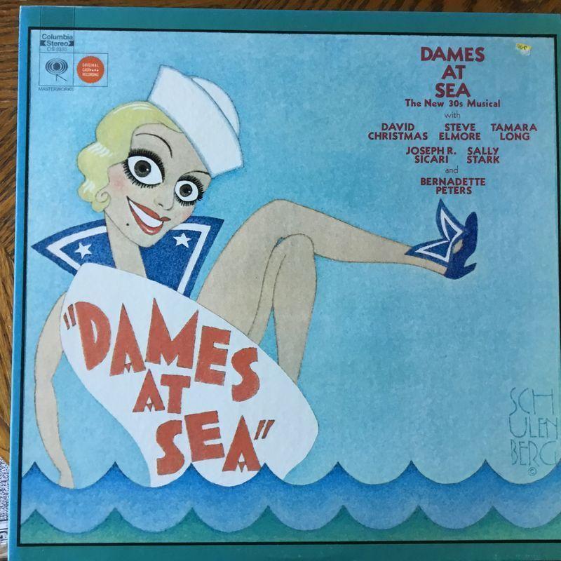 Dames At Sea - Dames At Sea LP