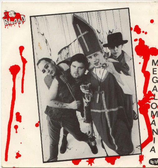 Blood - Meglamania/parasite In Paradise/calling The Shots - EP