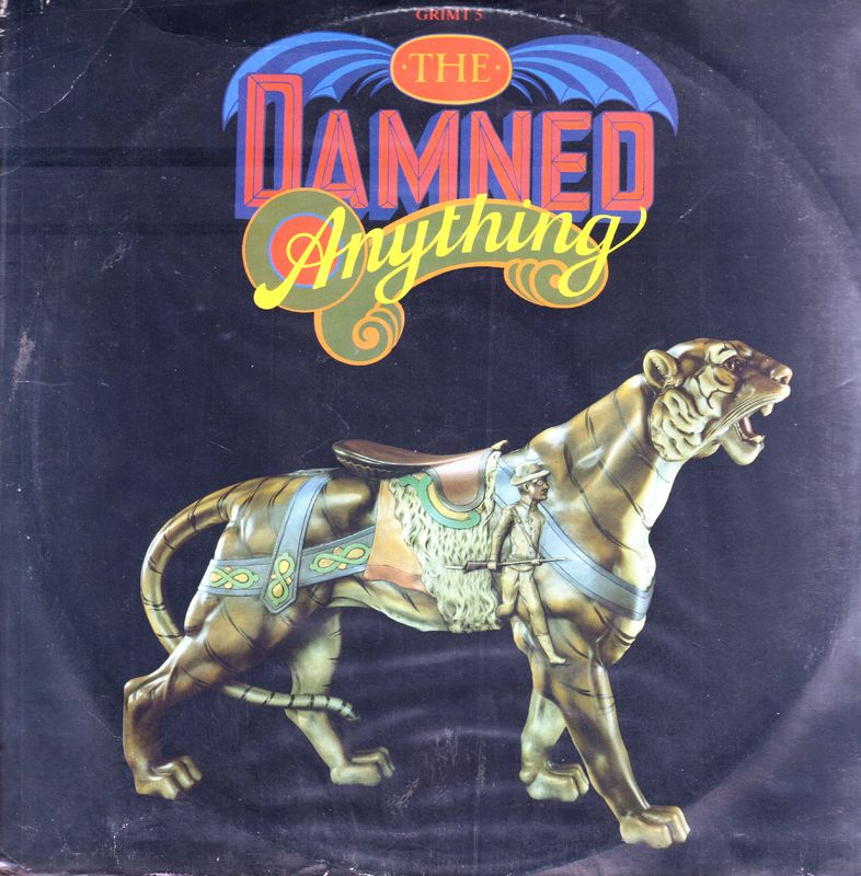"Damned - Anything/the Year Of The Jackal/thanks For The Night(rat Mix) - 12"" PS"