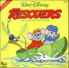 Bob Newhart/eva Gabor/joe Flyn More... - The Rescuers Story And Songs From The Film - LP