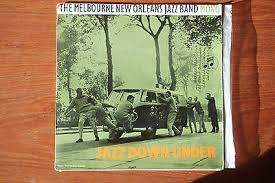 "Melbourne New Orleans Jazz Band - Jazz Down Under - 7"" PS"
