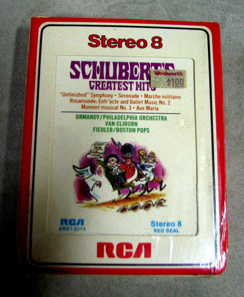 8 Track Tape Sealed Red Seal