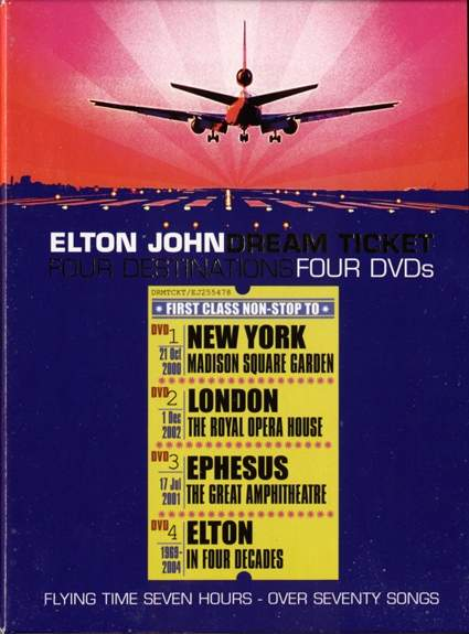 4 Dvd Box Dream Ticket