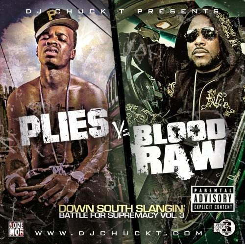 Dj Chuck T - ...plies Vs Blood Raw - CD